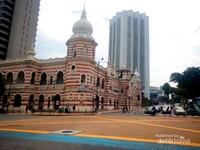Museum Tekstil di dekat masjid jamek Kuala Lumpur