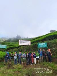 Titik Awal Pendakian Gunung Dempo via Kampung IV