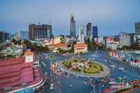 Lanskap Kota Saigon atau Kota Ho Chi Minh