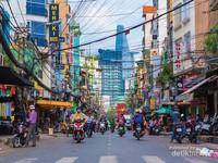 Jalanan di Saigon