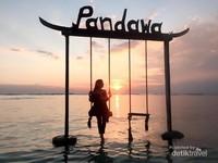 Sunset di Pandawa Resort, Gili Trawangan
