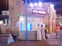Salah satu pusat informasi di Mekkah