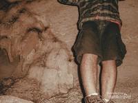 Bagian Tersempit Gua Gumbasalu