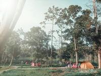 Traveler bisa sekalian camping.