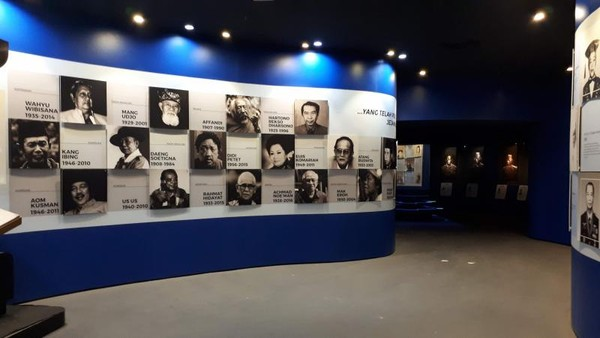 Museum ini berisi lebih dari 350 tokoh Jawa Barat dari berbagai bidang