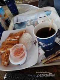 Makanan halal di USS