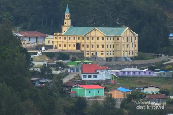 Igreja Paroquia Maubisse.