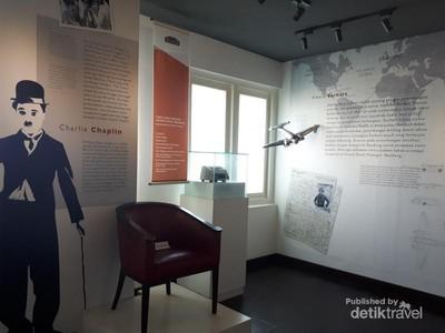 Saksi Bisu Kedatangan Charlie Chaplin di Bandung