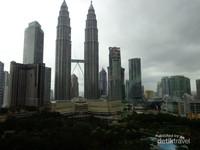 Sisi lain Menara Petronas
