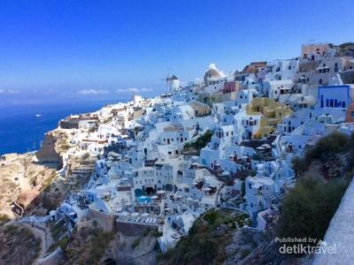 Indahnya Negeri Para Dewa, dari Athena Sampai Santorini