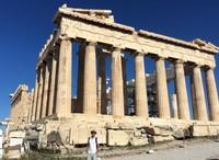 Kuil Parthenon yang melegenda di Athea