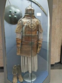 Baju zirah yang biasa digunakan untuk perang di zaman itu
