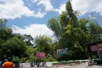 Plang nama dua warung perintis di ujung jalan