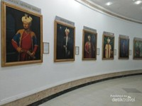 Lukisan para penguasa kerajaan Dinasti Timuriyah