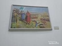 Salah satu lukisan yang menggambarkan suasana peperangan pada zaman itu
