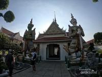Salah satunya adalah penyimpanan naskah kuno kerajaan Thailand