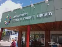 Fasilitas Perpustakaan Umum di Pusat Kota Antigonish
