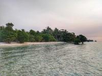 Spot snorkeling Cemara 2 di hari pertama