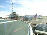 Keindahan Panorama di Bandara Internasional Malpensa, Italy