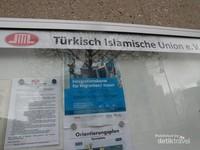 Papan pengumuman Islam Union Turki