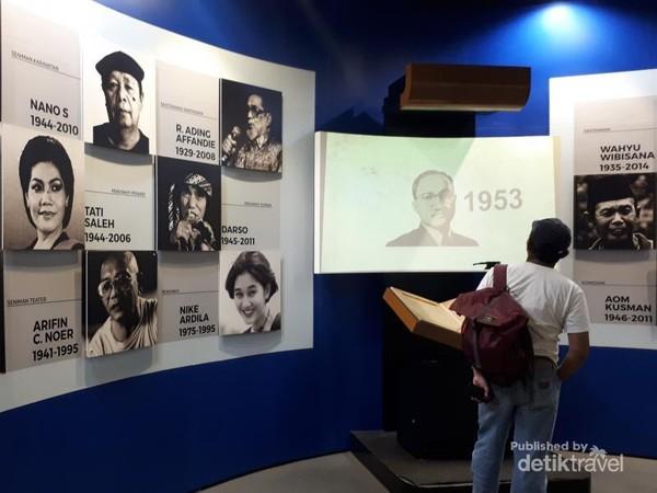 Panggung Inohong merupakan ruangan yang didedikasikan untuk tokoh-tokoh yang berjasa dan berprestasi di Jawa Barat