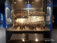 Diorama yang mengambarkan kejadian dalam Konfersensi Asia Afrika dan Gerakan Non Blok