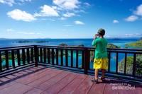 Pemandangan dari puncak Piaynemo