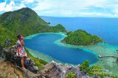 Danau Karawapop, Simbol Cinta dari Tanah Papua