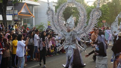 Potret Keriaan Solo Batik Carnival Tahun Ini