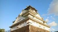 Osaka Castle yang megah.
