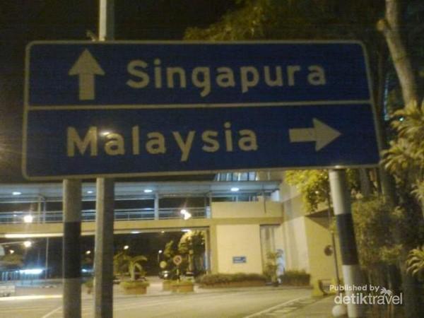 Perbatasan Singapura - Malaysia
