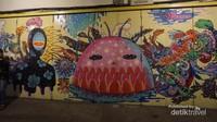Mural di koridor Gatsu dibuat untuk menciptakan ikon wisata baru