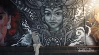Lukisan mural ini merupakan program wisata