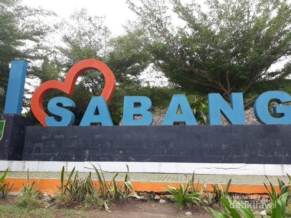 Panorama I love Sabang