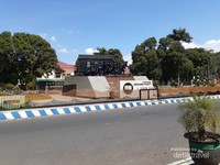 Monumen gerbong maut Bondowoso