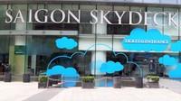 Pintu masuk menuju Saigon Skydeck.
