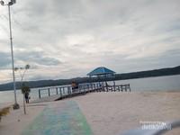 Pemandangan Pulau Bokori
