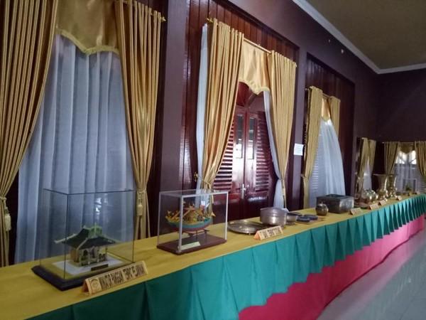 Balay Unod yang menyimpan koleksi seserahan perkawinan Suku tidung