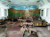 Miniatur dan diorama di museum mulawarman