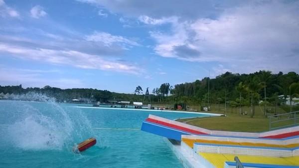 treasure bay lagoi merupakan kolam renang terbesar di asia tenggara