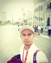 Wisata sejarah jadi kunjungan terbaik, foto di Lapangan Merdeka Malaysia