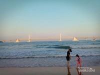 Menghabiskan akhir pekan di Pantai Gwangalli bersama keluarga