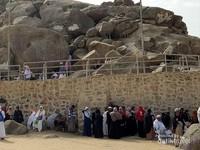 Bebatuan raksasa Jabal Rahmah