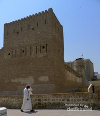 Bagian luar Dubai Museum