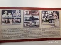 Foto-foto dan penjelasan mengenai kehidupan Soekarno dan Inggit