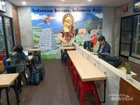 Suasana Bus Eksekutif AC menuju Cirebon