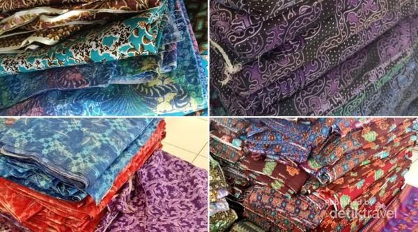 Batik printing warna-warni dari Pekalongan. Kini mereka tidak takut lagi dengan gempuran batik murah dari RRC karena sudah bisa memproduksi batik murah sendiri.