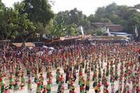 Ribuan Penari Thengul meriahkan Bojonegoro Thengul International Folklore Festival (TIFF) 2019