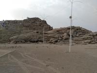 Tempat wuquf padang arafah atau yang biasa dikenal dengan sebutan jabal rahma