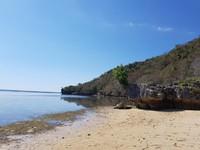 Pantai dekat dermaga rangko